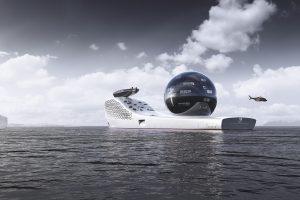 Entrepreneur debuts atomic planet-saving superyacht
